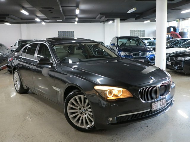 Used BMW 7 Series F01 MY0311 730d Steptronic, 2011 BMW 7 Series F01 MY0311 730d Steptronic Sophisto Grey 6 Speed Sports Automatic Sedan