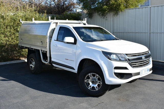 Used Holden Colorado RG MY16 LS, 2016 Holden Colorado RG MY16 LS Olympic White 6 Speed Sports Automatic Cab Chassis