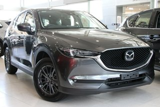2019 Mazda CX-5 KF2W7A Maxx SKYACTIV-Drive FWD Sport Machine Grey 6 Speed Sports Automatic Wagon.