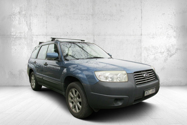 Used Subaru Forester 79V MY08 X AWD, 2007 Subaru Forester 79V MY08 X AWD Blue 4 Speed Automatic Wagon