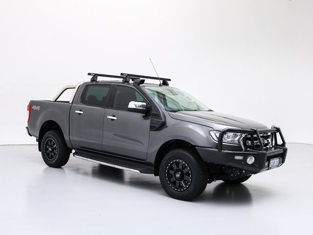 Used Ford Ranger PX MkII MY17 XLT 3.2 (4x4), 2017 Ford Ranger PX MkII MY17 XLT 3.2 (4x4) Grey 6 Speed Manual Dual Cab Utility