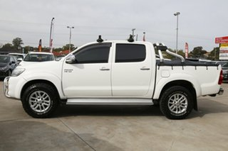 2013 Toyota Hilux GGN25R MY12 SR5 (4x4) White 5 Speed Automatic Dual Cab Pick-up
