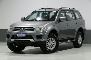 2014 Mitsubishi Challenger PC MY14 LS (5 Seat) (4x4) Grey 5 Speed Automatic Wagon.
