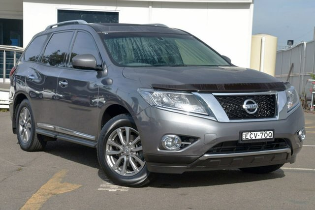 Used Nissan Pathfinder R52 MY16 ST-L X-tronic 4WD, 2016 Nissan Pathfinder R52 MY16 ST-L X-tronic 4WD Grey 1 Speed Constant Variable Wagon