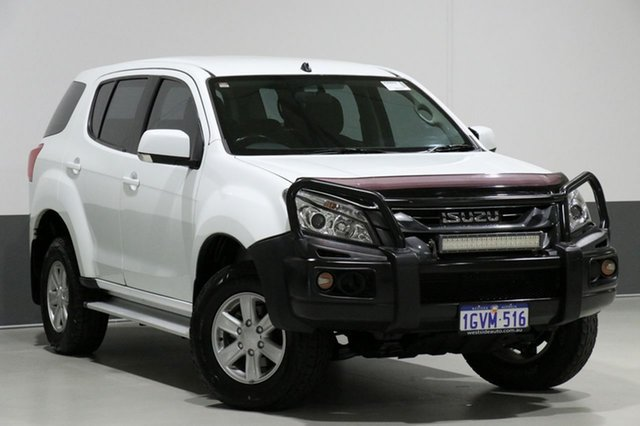 Used Isuzu MU-X UC MY15 LS-M (4x2), 2015 Isuzu MU-X UC MY15 LS-M (4x2) White 5 Speed Automatic Wagon