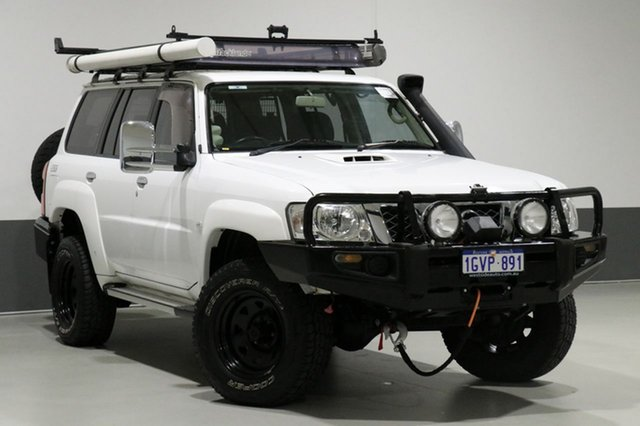 Used Nissan Patrol GU VIII ST (4x4), 2012 Nissan Patrol GU VIII ST (4x4) White 5 Speed Manual Wagon