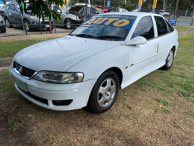 Used Holden Vectra JSII CD, 2001 Holden Vectra JSII CD White 4 Speed Automatic Hatchback