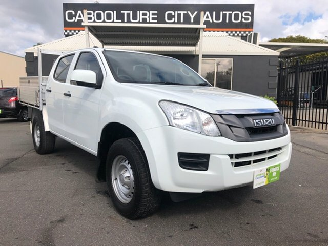 Used Isuzu D-MAX MY12 SX Crew Cab 4x2 High Ride, 2012 Isuzu D-MAX MY12 SX Crew Cab 4x2 High Ride White 5 Speed Sports Automatic Utility