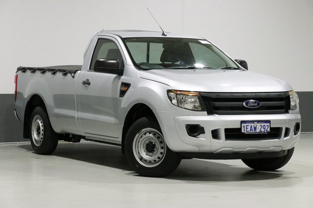 Used Ford Ranger PX XL 2.2 (4x2), 2012 Ford Ranger PX XL 2.2 (4x2) Silver 6 Speed Manual Utility