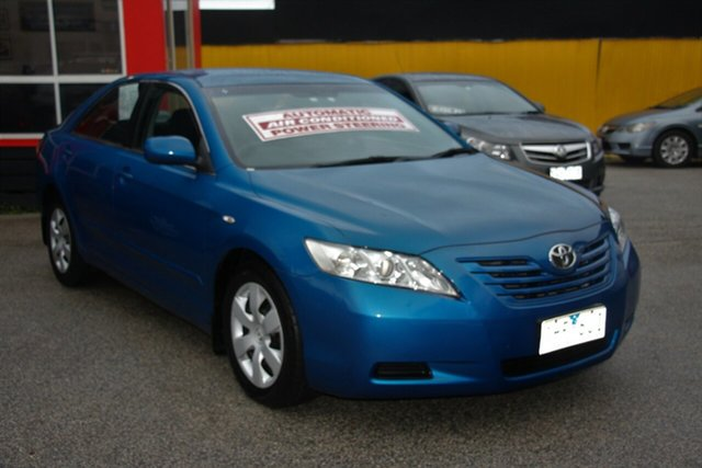 Used Toyota Camry ACV40R Altise, 2008 Toyota Camry ACV40R Altise Blue 5 Speed Automatic Sedan