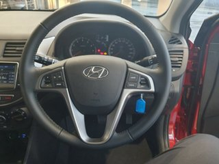 2019 Hyundai Accent RB6 MY18 Sport Pulse Red 6 Speed Sports Automatic Hatchback