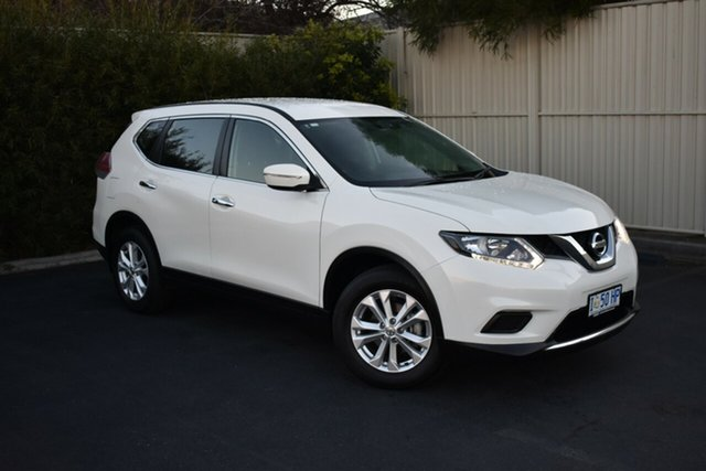 Used Nissan X-Trail T32 ST X-tronic 4WD, 2016 Nissan X-Trail T32 ST X-tronic 4WD Pearl White 7 Speed Constant Variable Wagon