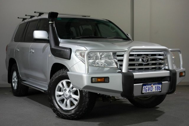 Used Toyota Landcruiser VDJ200R GXL, 2008 Toyota Landcruiser VDJ200R GXL Silver 6 Speed Sports Automatic Wagon