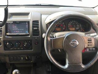 2008 Nissan Navara D40 ST-X Silver 6 Speed Manual Utility.