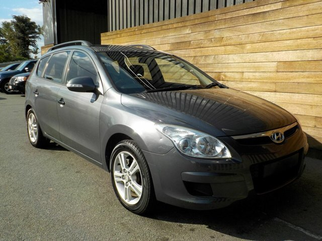 Used Hyundai i30 FD MY09 SX cw Wagon, 2009 Hyundai i30 FD MY09 SX cw Wagon Grey 4 Speed Automatic Wagon