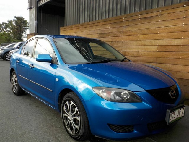 Used Mazda 3 BK10F1 Neo, 2004 Mazda 3 BK10F1 Neo Blue 5 Speed Manual Sedan