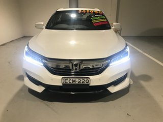 2018 Honda Accord 9th Gen MY18 V6L White 6 Speed Sports Automatic Sedan.