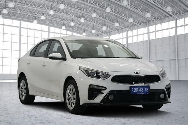 Used Kia Cerato BD MY19 S, 2019 Kia Cerato BD MY19 S Clear White 6 Speed Sports Automatic Sedan