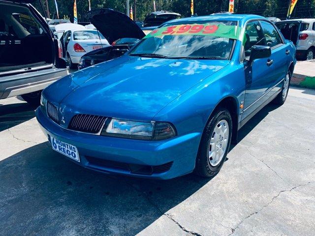 Used Mitsubishi Magna TJ Executive, 2001 Mitsubishi Magna TJ Executive Blue 4 Speed Automatic Sedan