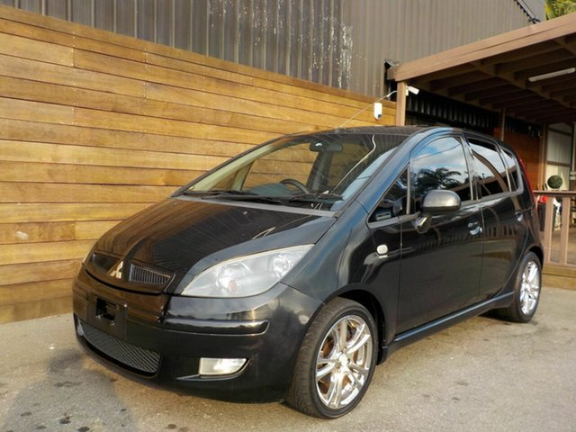 Used Mitsubishi Colt RG XLS, 2005 Mitsubishi Colt RG XLS Black 1 Speed Constant Variable Hatchback
