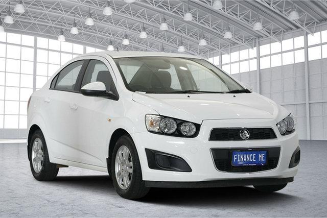 Used Holden Barina TM MY16 CD, 2016 Holden Barina TM MY16 CD White 6 Speed Automatic Sedan