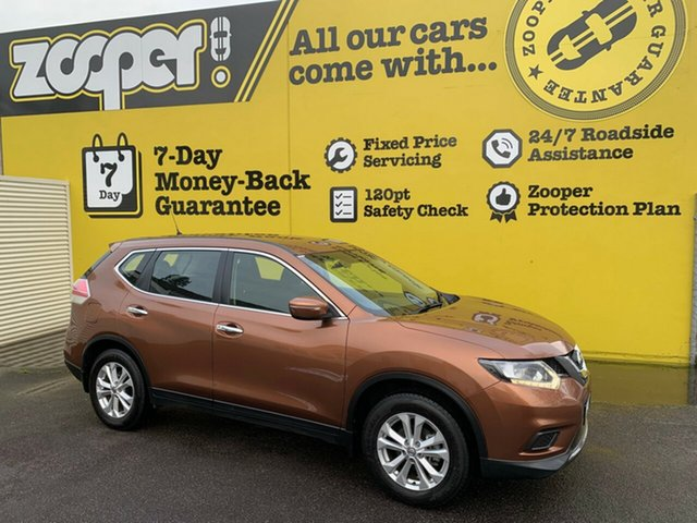 Used Nissan X-Trail T32 ST X-tronic 2WD, 2016 Nissan X-Trail T32 ST X-tronic 2WD Desert Dusk 7 Speed Constant Variable Wagon
