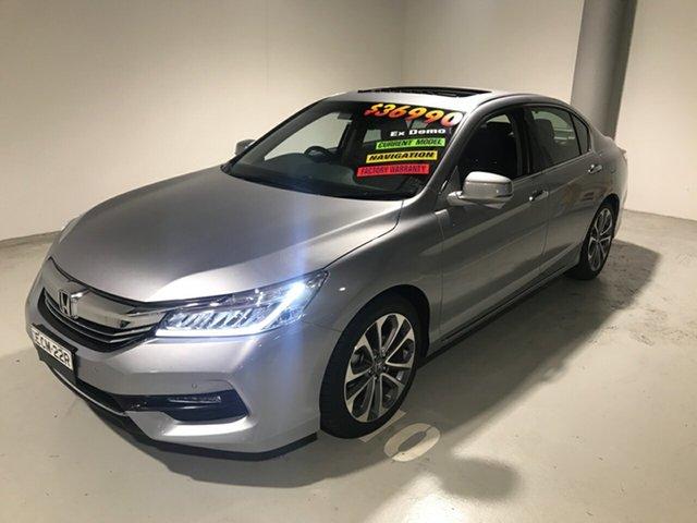 Used Honda Accord 9th Gen MY18 VTi-L, 2018 Honda Accord 9th Gen MY18 VTi-L Silver 5 Speed Sports Automatic Sedan