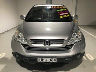 2007 Honda CR-V RE MY2007 Sport 4WD Silver 5 Speed Automatic Wagon.