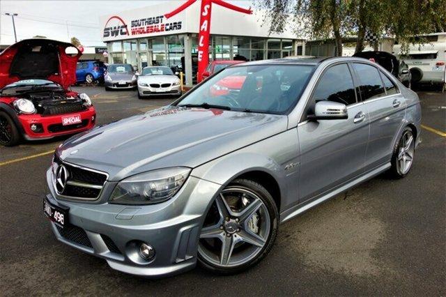 Used Mercedes-Benz C63 W204 AMG, 2009 Mercedes-Benz C63 W204 AMG Grey 7 Speed Sports Automatic Sedan