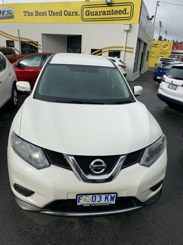 Used Nissan X-Trail T32 ST X-tronic 2WD, 2016 Nissan X-Trail T32 ST X-tronic 2WD Ivory Pearl 7 Speed Constant Variable Wagon