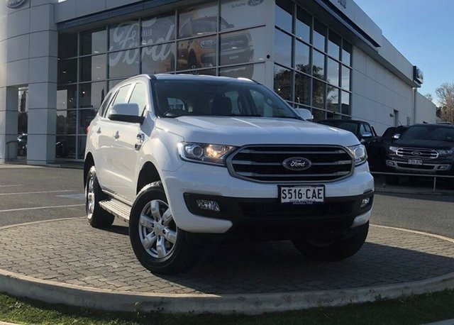 Demo Ford Everest UA II 2019.00MY Ambiente 4WD, 2018 Ford Everest UA II 2019.00MY Ambiente 4WD Arctic White 6 Speed Sports Automatic Wagon