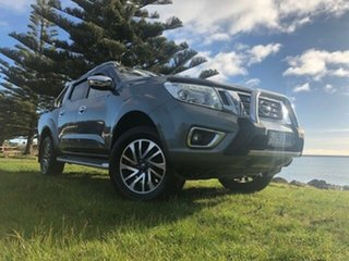 2016 Nissan Navara D23 S2 ST-X Slate Grey 7 Speed Sports Automatic Utility.