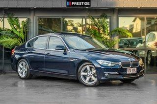 2013 BMW 320d F30 MY0813 Blue 8 Speed Sports Automatic Sedan.