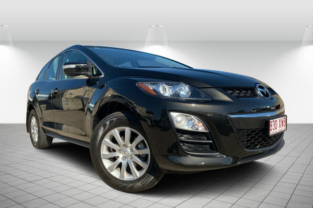 Used Mazda CX-7 ER10L2 Classic Activematic, 2010 Mazda CX-7 ER10L2 Classic Activematic Black 5 Speed Sports Automatic Wagon