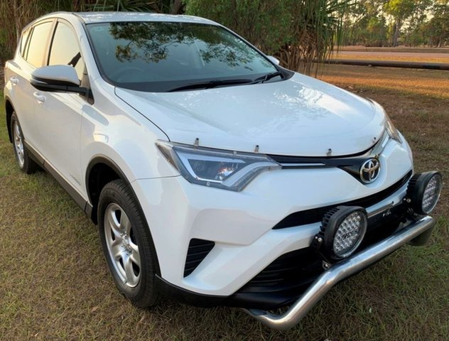 Used Toyota RAV4 ALA49R GX AWD, 2016 Toyota RAV4 ALA49R GX AWD White 6 Speed Sports Automatic Wagon