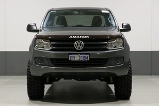 2016 Volkswagen Amarok 2H MY16 TDI400 Core Edition (4x4) Grey 6 Speed Manual Dual Cab Utility.