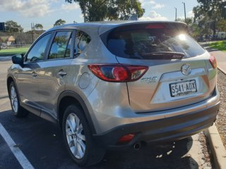 2012 Mazda CX-5 KE1071 Grand Touring SKYACTIV-Drive AWD Silver 6 Speed Sports Automatic Wagon.