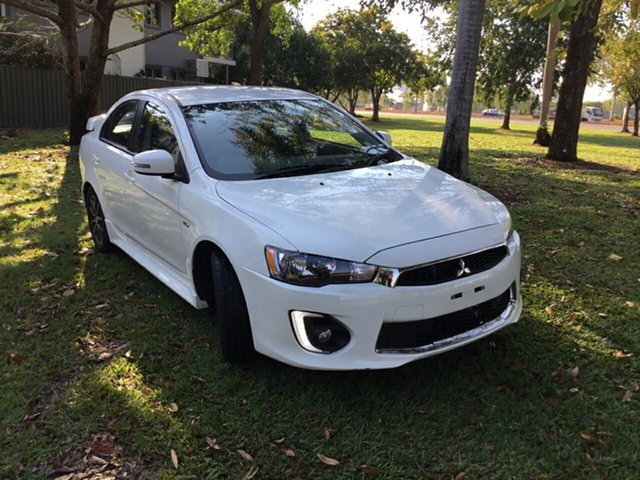 Used Mitsubishi Lancer CF MY17 ES Sport, 2017 Mitsubishi Lancer CF MY17 ES Sport White 6 Speed CVT Auto Sequential Sedan