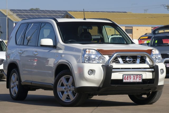 Used Nissan X-Trail T31 MY10 ST-L, 2010 Nissan X-Trail T31 MY10 ST-L White 1 Speed Constant Variable Wagon