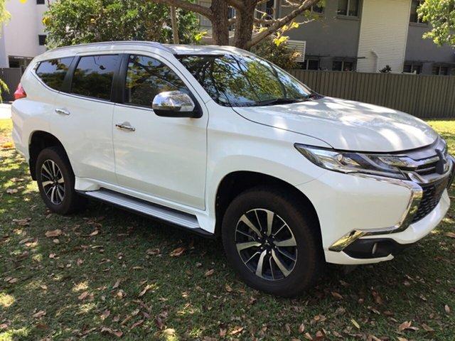 Used Mitsubishi Pajero Sport MY16 GLS (4x4) 7 Seat, 2017 Mitsubishi Pajero Sport MY16 GLS (4x4) 7 Seat White 8 Speed Automatic Wagon