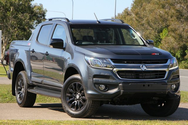 Used Holden Colorado RG MY19 Z71 Pickup Crew Cab, 2018 Holden Colorado RG MY19 Z71 Pickup Crew Cab Dark Shadow Grey 6 Speed Sports Automatic Utility