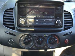 2014 Mitsubishi Triton MN MY14 Update GL Silver 5 Speed Manual Cab Chassis