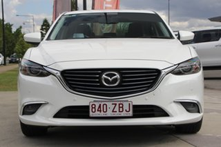 2015 Mazda 6 GJ1032 GT SKYACTIV-Drive White 6 Speed Sports Automatic Sedan