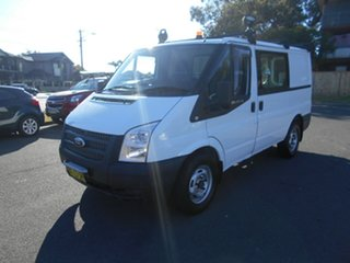 2012 Ford Transit VM MY12 Update Low (SWB) White 6 Speed Manual Van.