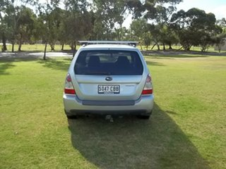 2006 Subaru Forester 79V MY07 XS AWD Silver 5 Speed Manual Wagon