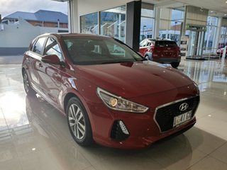 2019 Hyundai i30 PD2 MY19 Active Fiery Red 6 Speed Sports Automatic Hatchback.