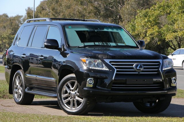Used Lexus LX570 URJ201R , 2015 Lexus LX570 URJ201R Black 8 Speed Sports Automatic Wagon