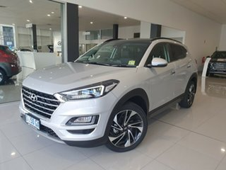 2019 Hyundai Tucson TL3 MY19 Highlander AWD Platinum Silver 8 Speed Sports Automatic Wagon.
