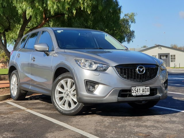 Used Mazda CX-5 KE1071 Grand Touring SKYACTIV-Drive AWD, 2012 Mazda CX-5 KE1071 Grand Touring SKYACTIV-Drive AWD Silver 6 Speed Sports Automatic Wagon