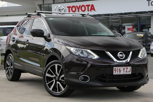 Used Nissan Qashqai J11 TI, 2014 Nissan Qashqai J11 TI Black 6 Speed Manual Wagon